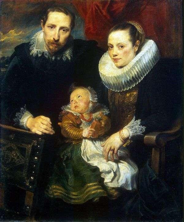 全家福   Anthony Van Dyck
