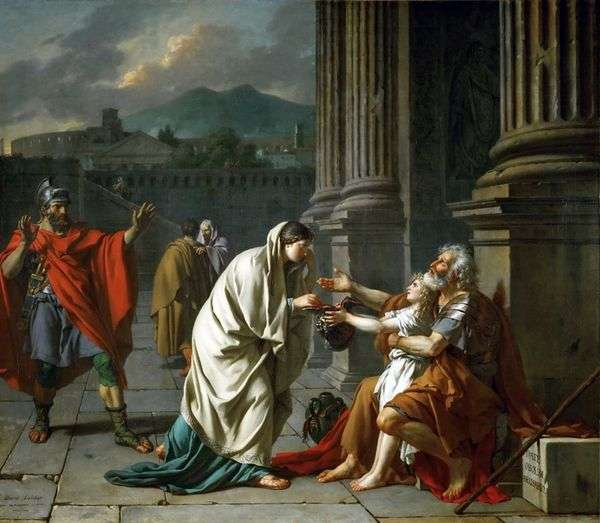 Belisarius乞讨   雅克路易斯大卫