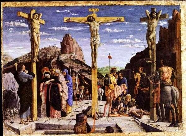 耶稣受难像   安德烈亚曼特尼亚