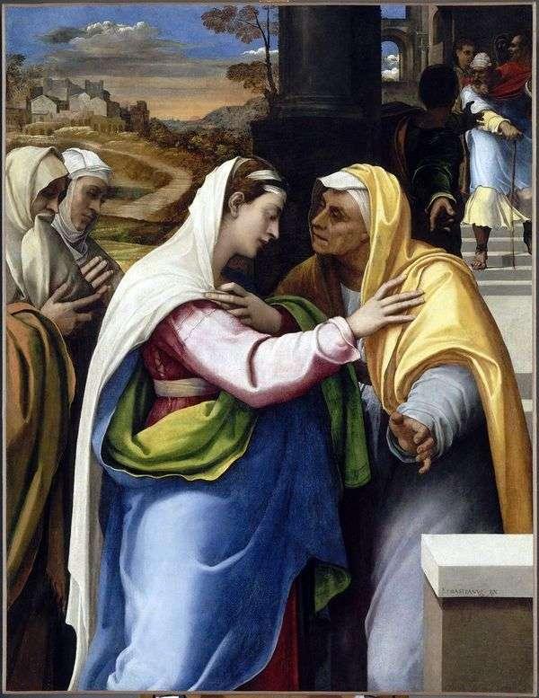 玛丽和伊丽莎白的会面   塞巴斯蒂亚诺德尔皮姆博