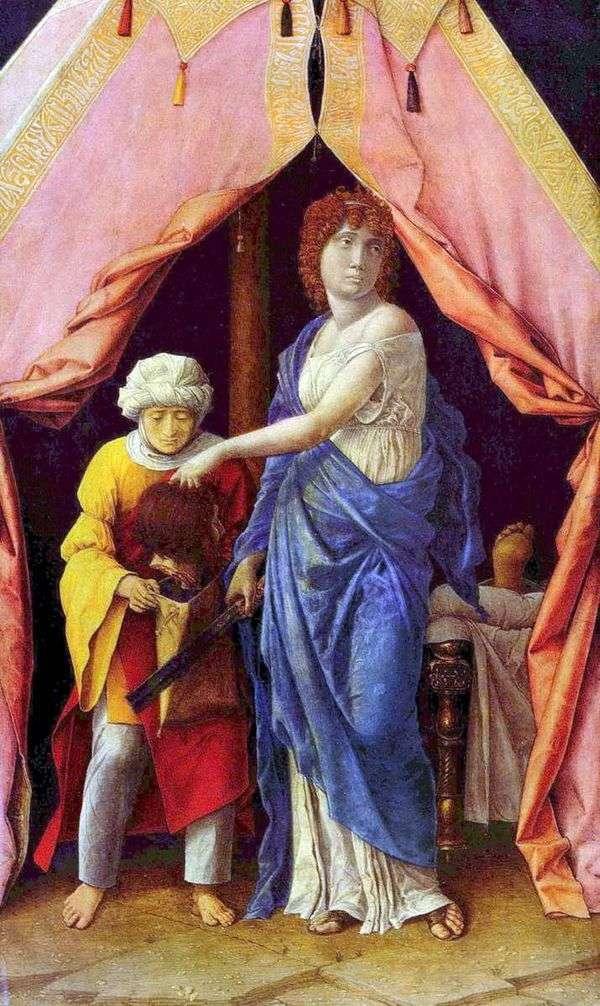 Judith和Holofernes   Andrea Mantegna