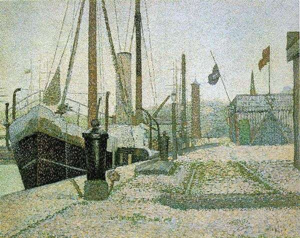 港口在翁弗勒尔   乔治Cephre
