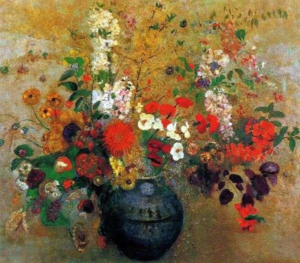 鲜花花束   Odilon Redon