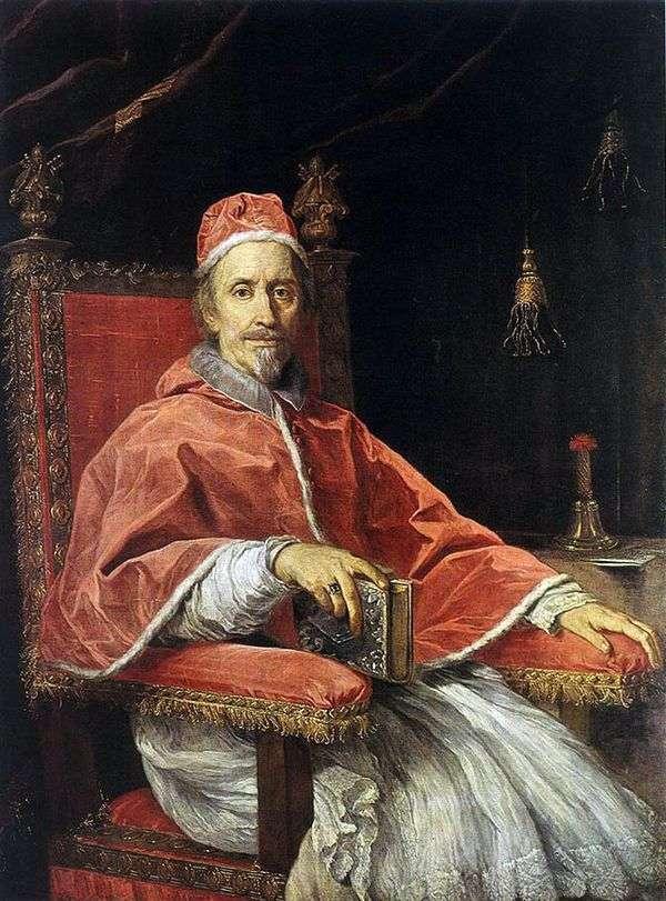 教皇克莱门特九世的肖像   卡罗马拉塔