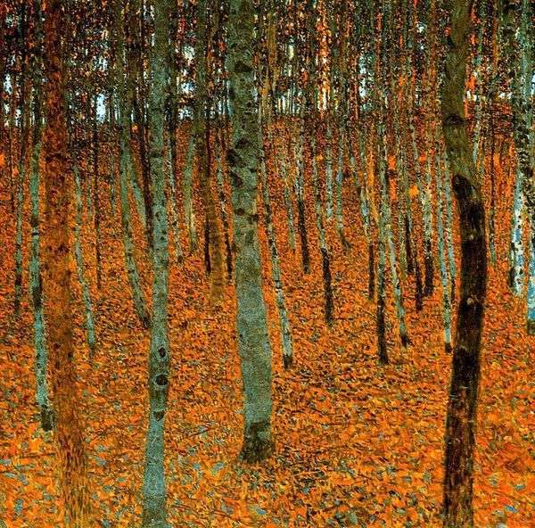 桦木森林   古斯塔夫克里姆特