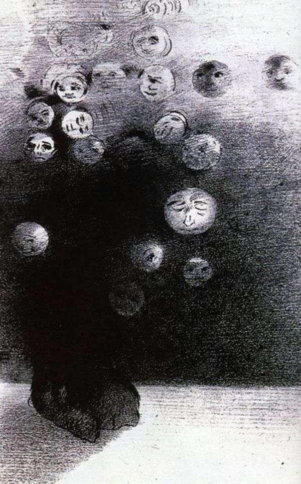 石版画   Odilon Redon