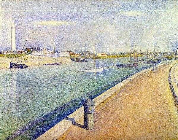 格拉维利纳的频道。小港菲利普   乔治塞拉