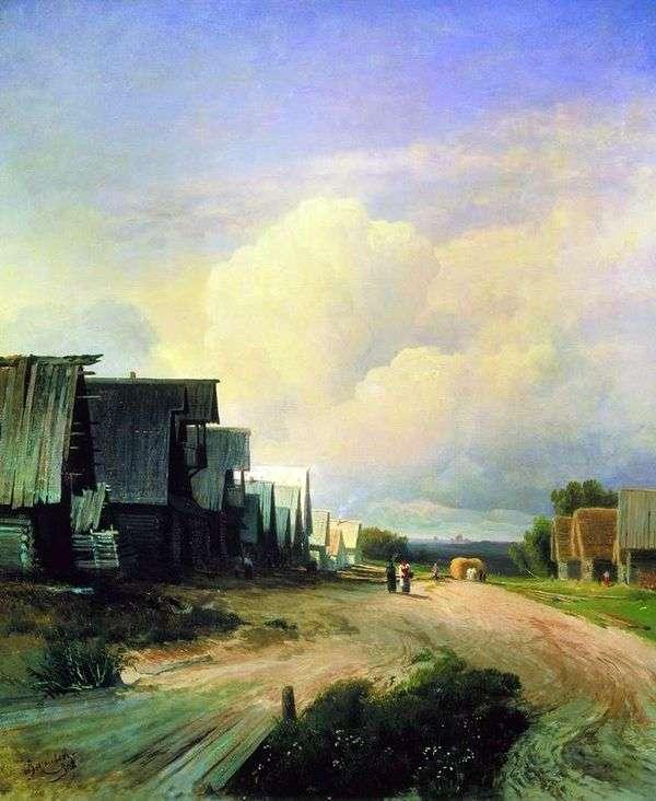 乡村街   Fedor Vasilyev