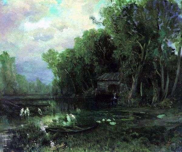 被遗弃的磨坊   Fedor Vasilyev