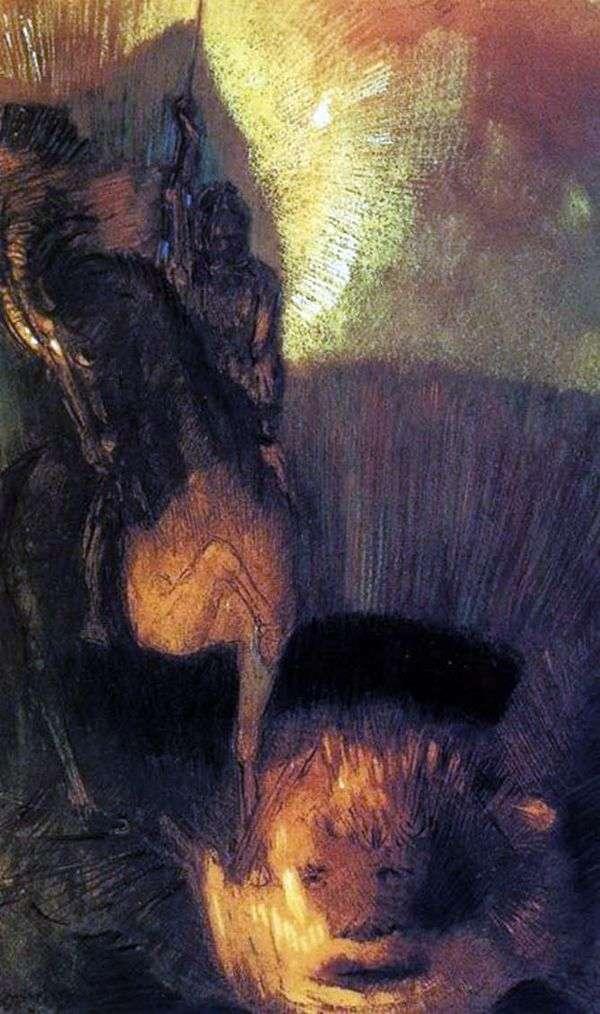圣乔治   Odilon Redon