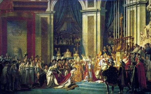 拿破仑一世的恩膏与约瑟芬的加冕   雅克路易大卫