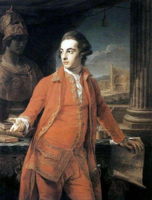 Gregory Page Turner爵士的肖像   Pompeo Batoni