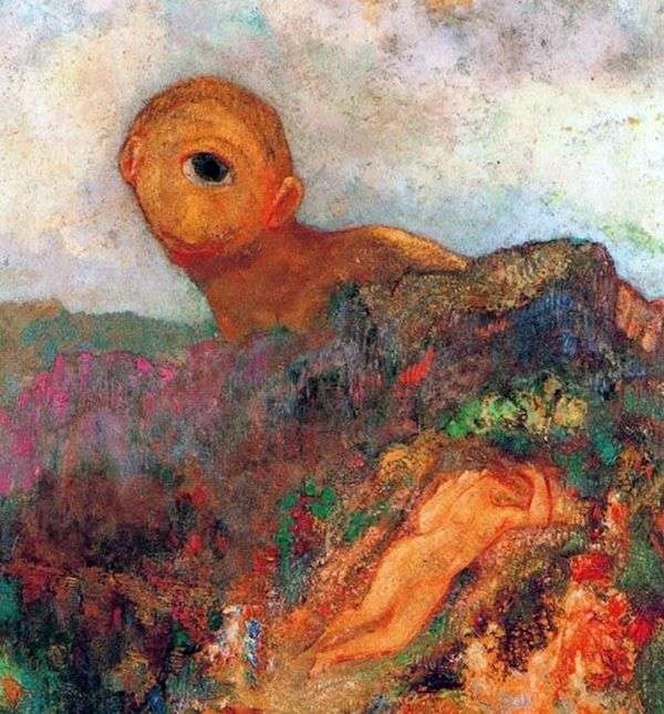 独眼巨人   Odilon Redon