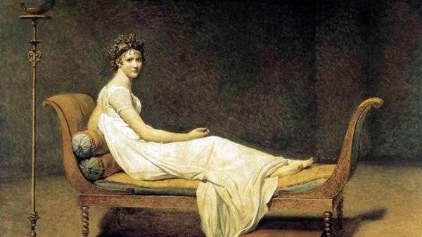 Recamier夫人的肖像   Jacques Louis David
