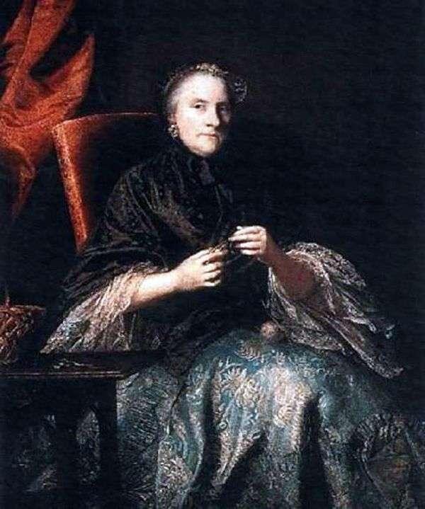 安娜,伯爵夫人奥尔马马尔   约书亚雷诺兹