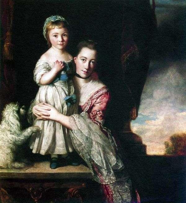 乔治亚娜,斯宾塞伯爵夫人,女儿   约书亚雷诺兹