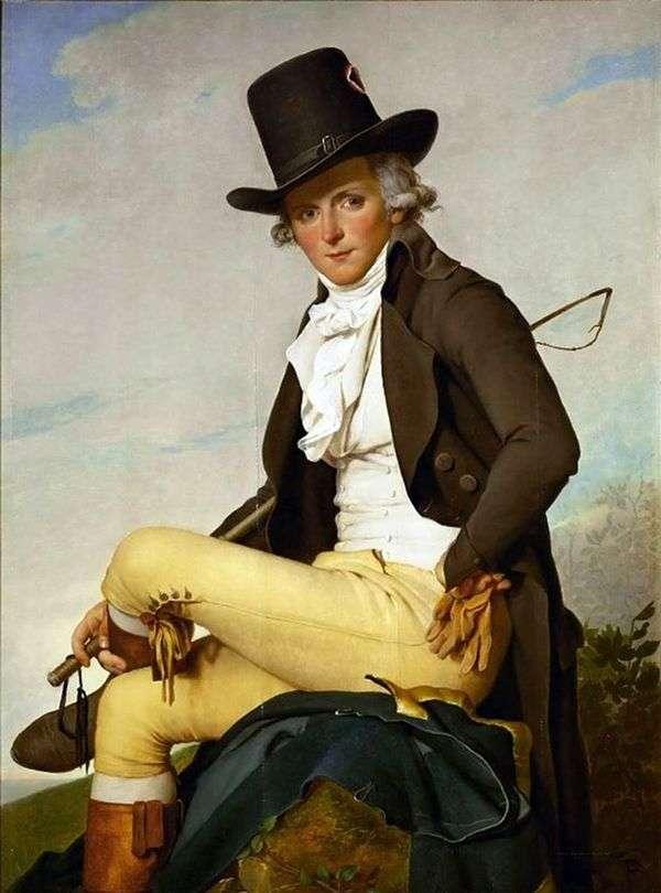 皮埃尔塞里西奥的肖像   雅克路易斯大卫
