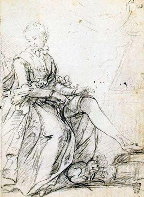 吊袜带绑的女人   约书亚雷诺兹