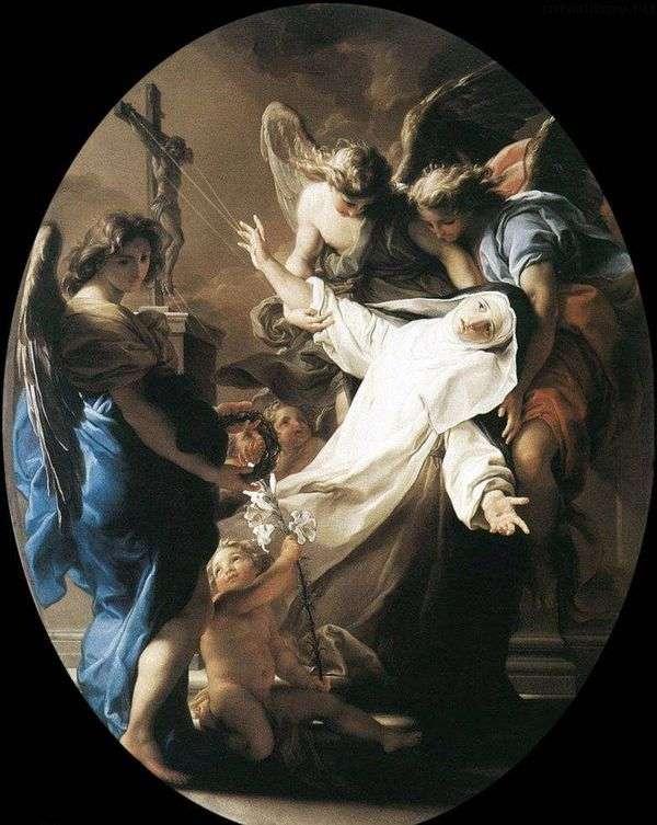 锡耶纳圣凯瑟琳的狂喜   Pompeo Batoni