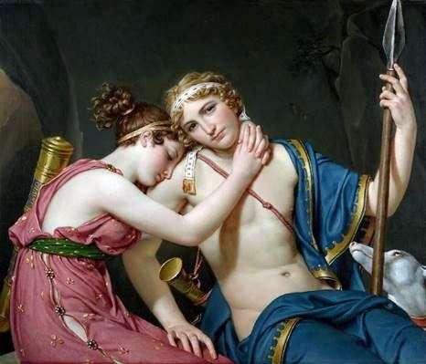 Telemachus的旅程   雅克路易斯大卫