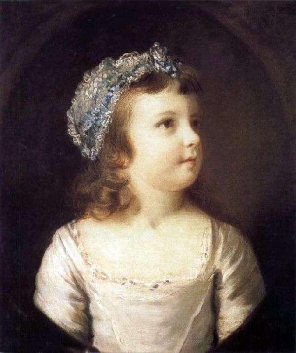 一个女孩的画像   约书亚雷诺兹