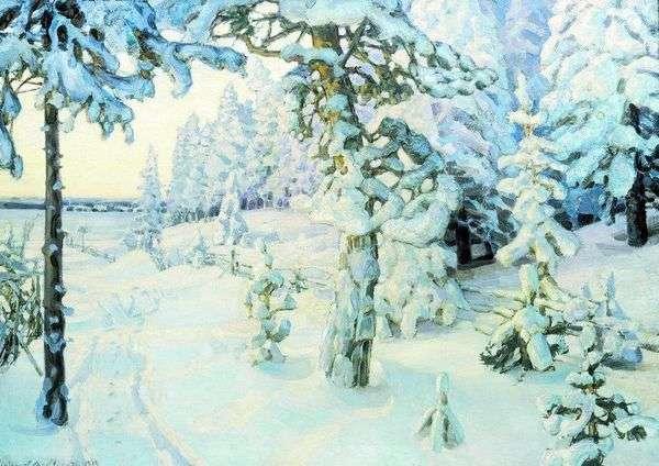 冬天的梦想   Apollinary Vasnetsov