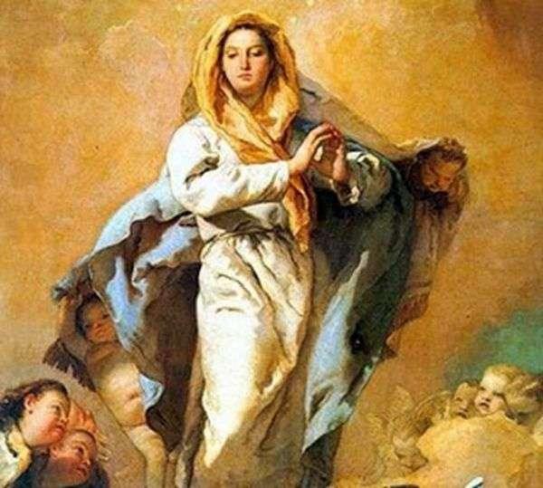 圣母无原罪   Giovanni Battista Tiepolo