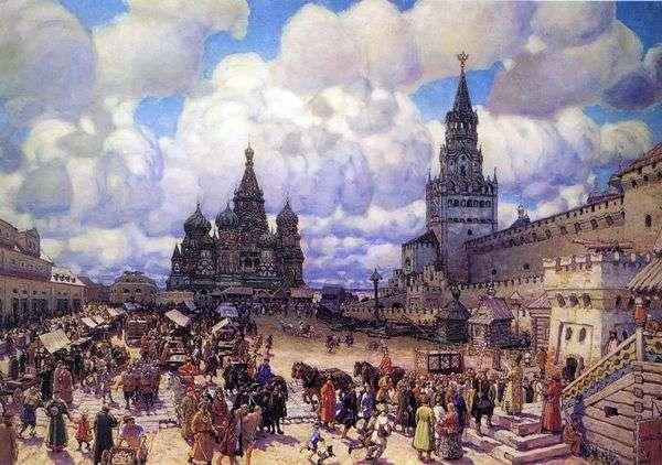 红十字世纪下半叶的红场   Apollinary Vasnetsov