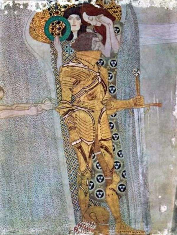 Frieze Beethoven,Wandgem   Gustav Klimt