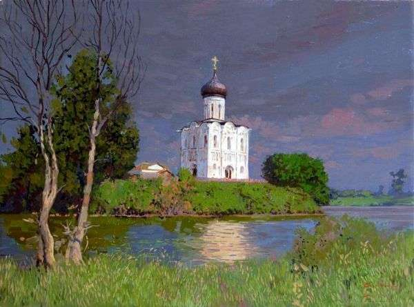Nerl代祷教堂   谢尔盖 鲍林