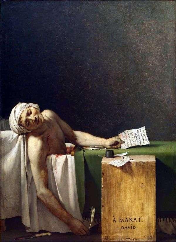马拉特之死   雅克   路易斯大卫