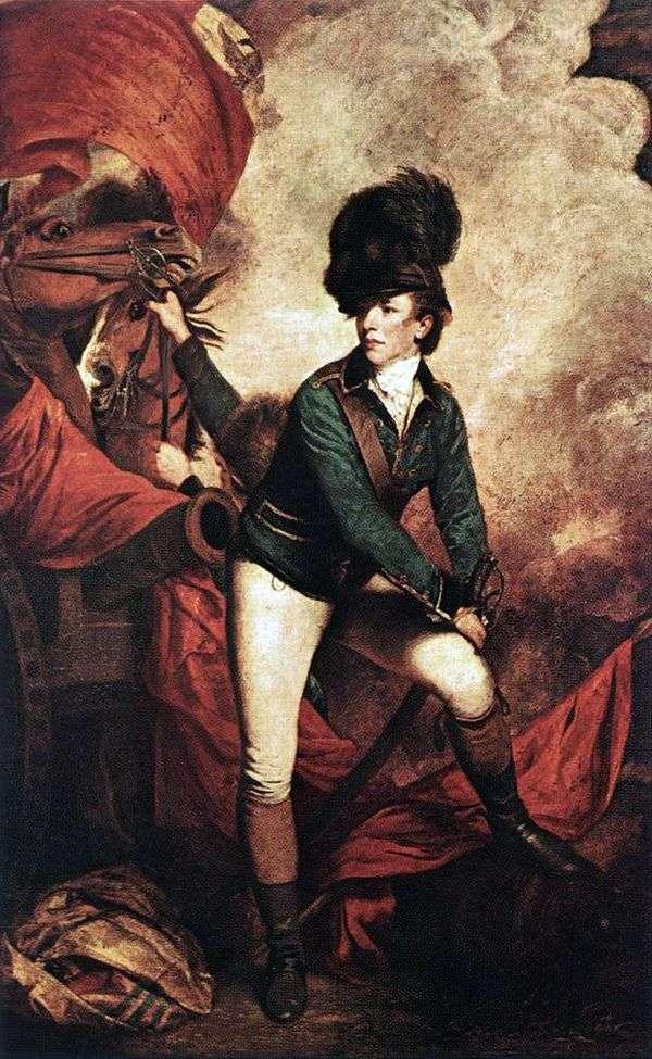 塔尔顿上校的肖像   约书亚雷诺兹