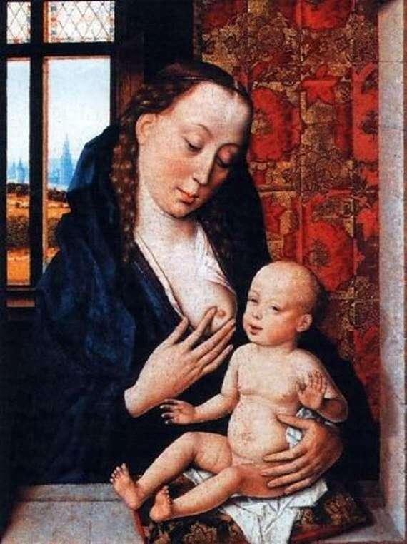 麦当娜喂养婴儿   德克布特