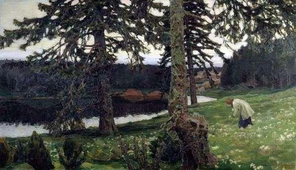 湖   Apollinary Vasnetsov