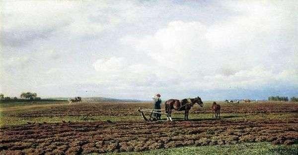 在耕地上   米哈伊尔 康斯坦丁诺维奇 克洛德