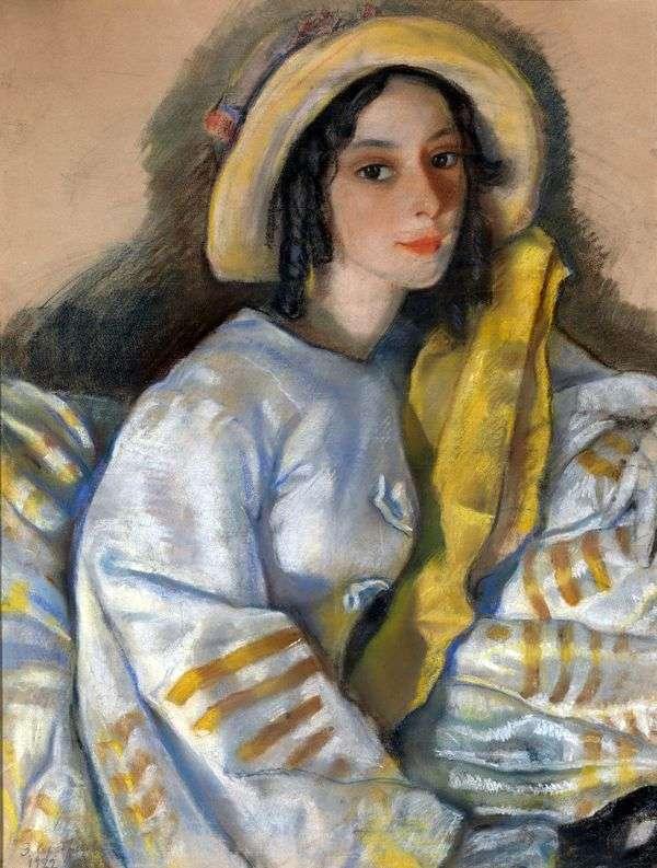 M. H. Frangopulo的肖像   Zinaida Serebryakova