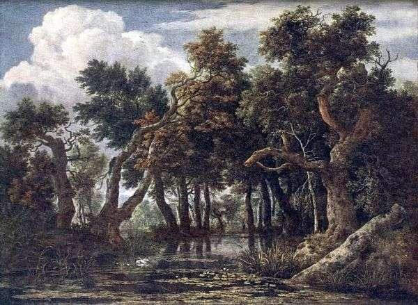 沼泽   Jacob van Ruysdael