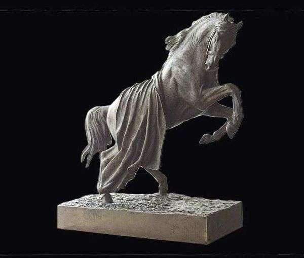 马匹养育的马   彼得Klodt