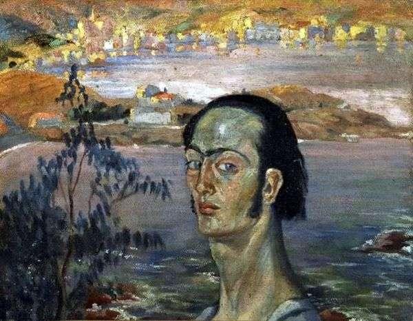 拉斐尔脖子的自画像   萨尔瓦多达利