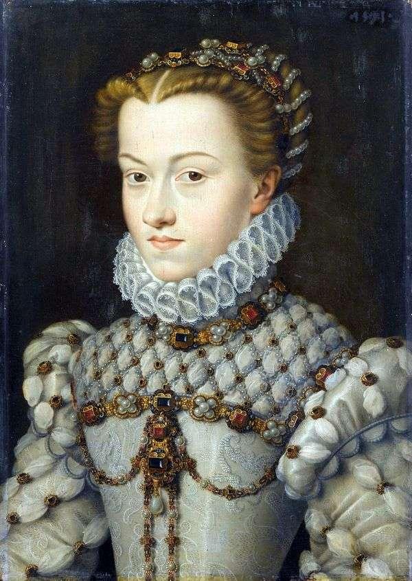 奥地利伊丽莎白公主   弗朗索瓦 克鲁埃特