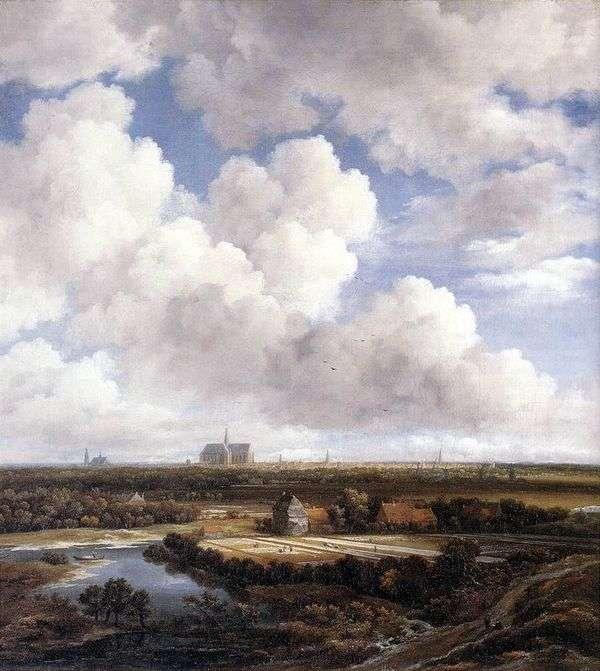 哈勒姆的视图   Jacob van Ruysdal