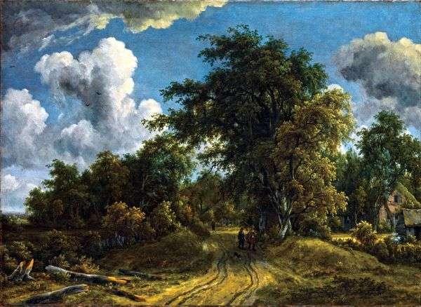 森林之路   Meindert Hobbema
