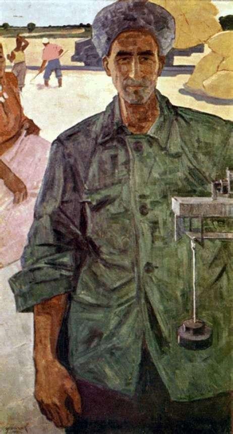 Yazmurad Orazsakhatov的肖像   Izzat Klychev