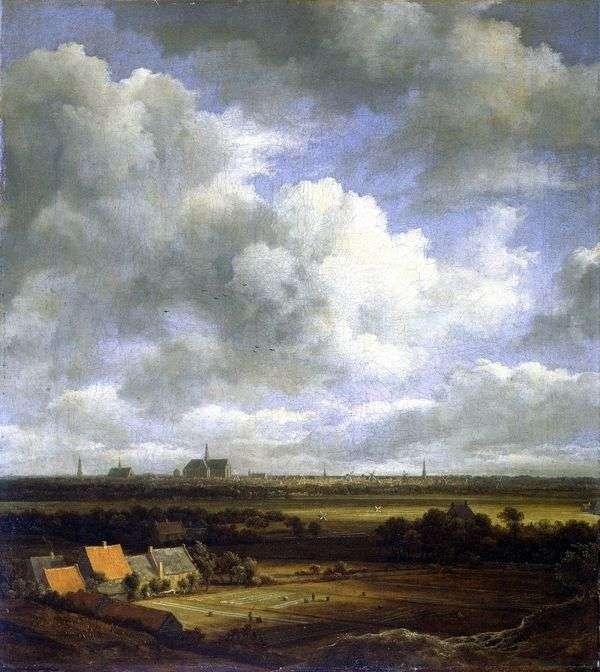 哈勒姆与领域的看法   雅各布van Ruisdal