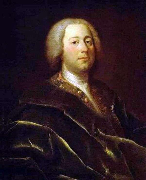 医生的画像I. A. Acaretti   安德烈马特维耶夫