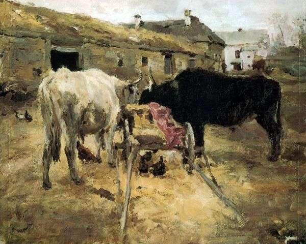 Oxen   Valentin Serov