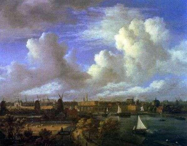 城市景观   Jacob van Ruysdal