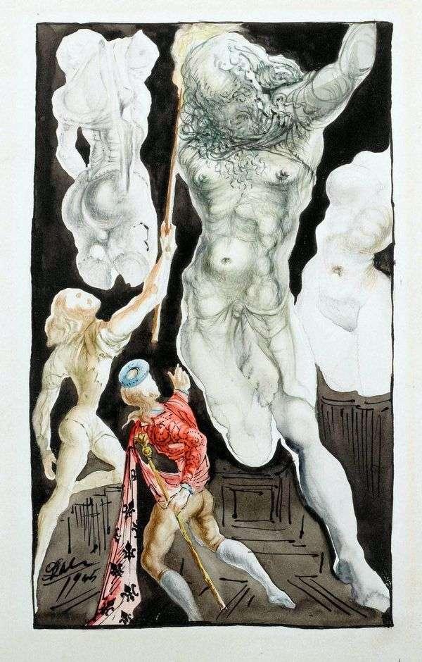 Benvenuto Cellini和木星   萨尔瓦多 达利