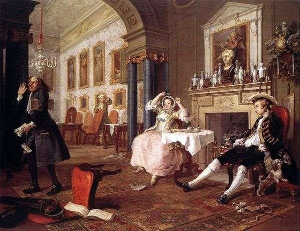 婚礼后不久   威廉霍加斯