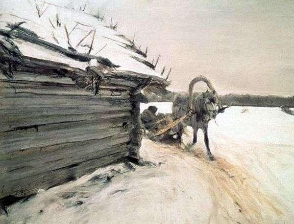 冬天   Valentin Serov